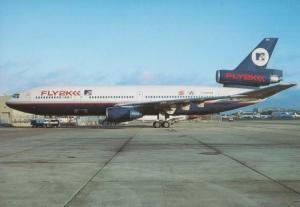 Fly 2K McDouglas CD-10-10 C-GCPD Plane Postcard