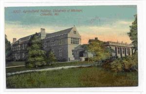 Agricultural Building, University Of Missouri, Columbia, Missouri, PU-1913