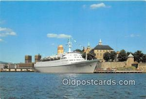 Ship Postcard Post Card Norwegian American Cruises MS Vistafjord Ship Postcar...