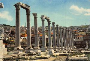 Turkey Egenin Agora Muzeis Museum Ruins Postcard