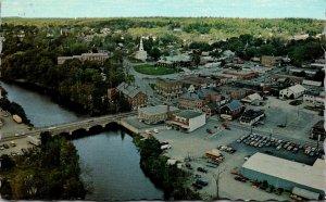 Maine Ellsorth Aerial View