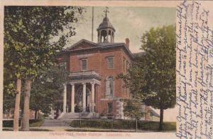 Maine Lewiston Hathorn Hall Btes College 1909