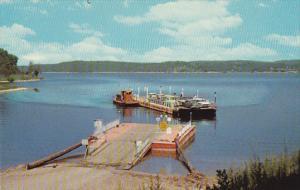 Arkansas Lake Norfork Ferry Curteich