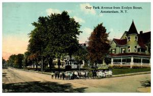 New York  Amsterdam , Guy Park Avenue