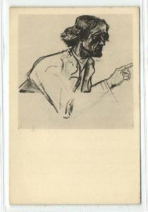 Dutch Symbolist JAN TOOROP - Apostle Peter