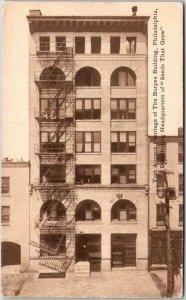 Philadelphia, PA Advertising Postcard BURPEE SEEDS Building / York Ave. View