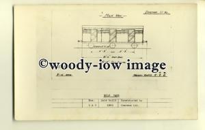 ry1035 - Diagram No.36, Milk Van built 1908 costructed by Cravens Ltd - postcard