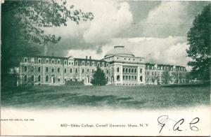 Sibley College, Cornell University Ithaca NY Undivided Back c1905 Postcard K10