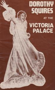 Dorothy Squires at Victoria Palace 1977 Live Musical Concert Theatre Programme