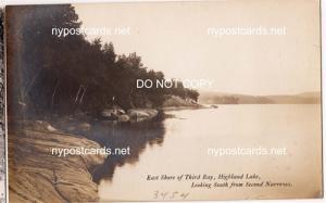 RPPC - East Shore, 3rd Bay, Highland Lake NY