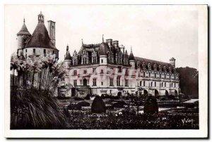 Postcard Old Chateaux of the Loire Chateau de Chenonceau