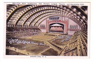 Interior, People in Main Auditorium, Theatre and Convention Hall, Atlantic Ci...