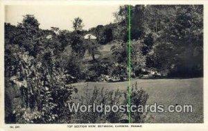 Botanical Gardens Penang Malaysia Writing On Back