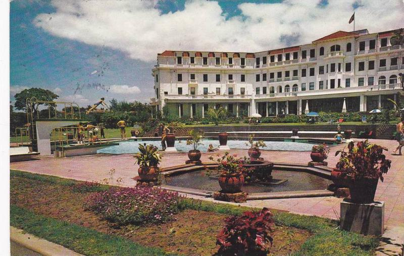 Lourenco Marques, Polano Hotel, General View, Swimming Pool, Mozambique, 40-60s