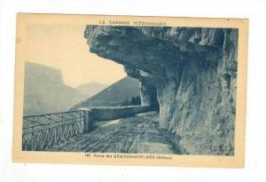 Route des GRANDS-GOULETS (Drome), France 1910s
