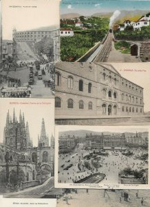 Spain - Postcard Lot of 54 RPPC and Printed Part Two    01.01