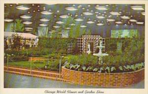 Illinois Chicago Beautiful Display At Chicago World Flower And Garden Show Mc...