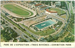 Canada, Parc de L´Exposition, TROIS-RIVIERES, Exhibition Park Aerial view