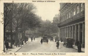 CPA Paris 1e (Dep.75) Place du Théátre Francais (54664)