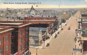 Aberdeen South Dakota~Main Street~Strauss Clothing House~Roan Real Estate~1912