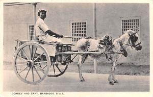 Barbados, West Indies Donkey and Cart  Donkey and Cart