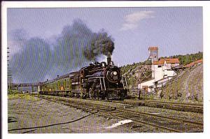 Ontario Northland Railway Centennial Train, Cobalt Haileybury, Ontario
