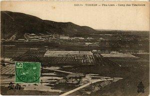 CPA AK INDOCHINA Tonkin Camp des Tirailleurs VIETNAM (956774)