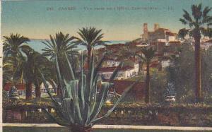 CANNES, Vue prise de L'Hotel Continental, Alpes Maritimes, France, 10-20s