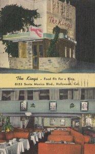 HOLLYWOOD , California, 30-40s ; The Kings Restaurant
