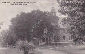 Massachusetts East Northfield Stone Hall The Northfield School For Girls Albe...