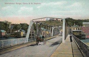 International Bridge - CALAIS, Maine & ST. STEPHEN, New Brunswick, 1900-10s
