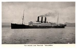 S.S. Columbia, The Anchor LIne , RPC
