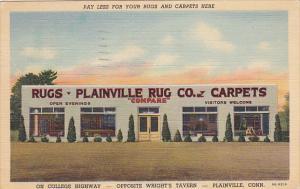 Plainville Rug Company Plainville Connecticut 1942 Curteich
