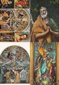 Toledo El Greco 4x Painting Spanish Postcard s