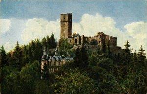 CPA AK Konigstein- Alte Ruine mit Schloss GERMANY (949255)