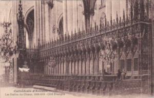 France Amiens La Cathedrale Les Stalles du Choeur