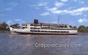 SS Mount Vernon, Washington, DC USA Steam Ship Unused