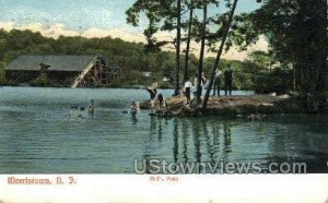 Mills Pond in Morristown, New Jersey