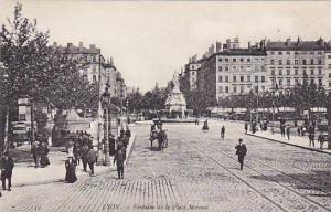 Fontaine De La Place Morand, Lyon (Rhone), France, 1900-1910s