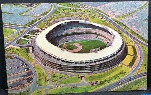 Stadium Redskins Senators Washington DC 1967 Vintage Postcard