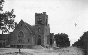 La Junta Colorado Presbyterian Church Real Photo Antique Postcard J79577