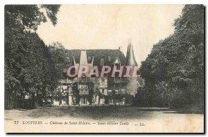 Old Postcard Louviers Chateau de Saint Hilaire
