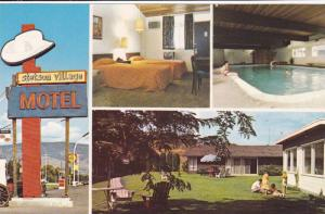 4-Views, Stetson Village Motel, Indoor Swimming Pool, Kelowna, British Columb...