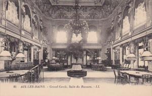 France Aix Les Bains Grand Cercle Salle du Baccara