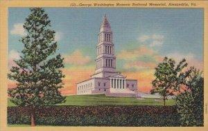 George Washington Masonic National Memorial Alexandria Virginia