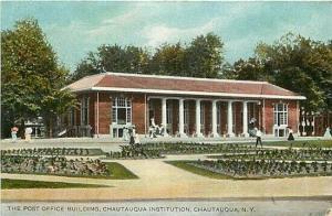 NY, Chautauqua, New York, Post Office