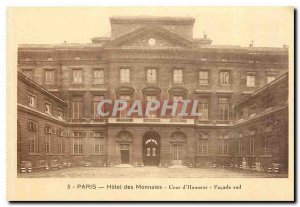 Old Postcard Paris Hotel of the Court of Honor Coins South Facade