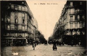 CPA Paris 14e Paris, Rue d'Alésia (310891)