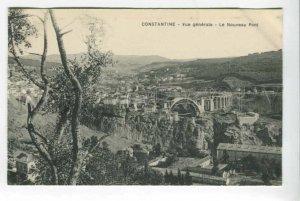 425837 ALGERIA CONSTANTINE New bridge Vintage postcard