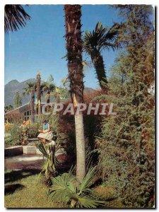 Postcard Modern Ferienparadies Motel Bei Ascona Losone